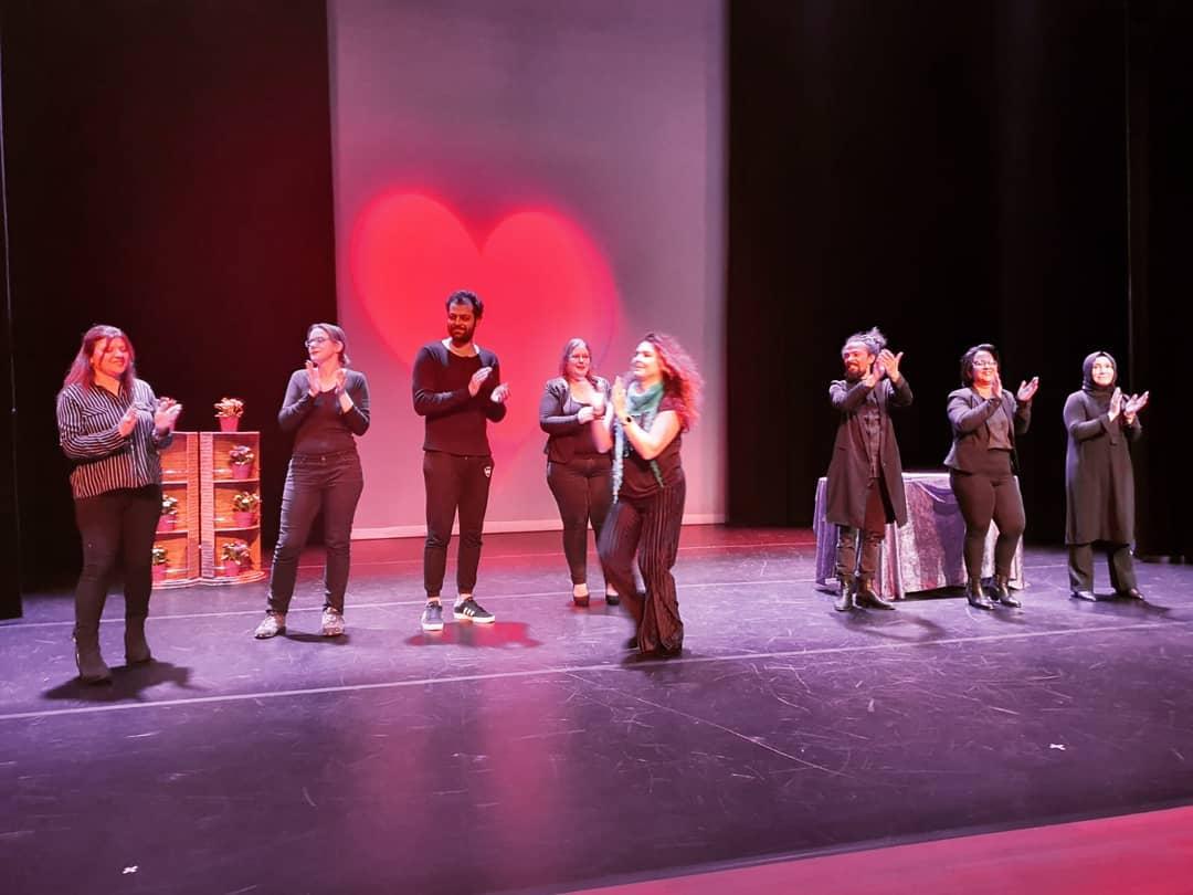 Weer een geweldige voorstelling neergezet! Ik ben supertrots! 🎭 #taalentheater #taaltent #taaltentmaakthetverschil 3 d.
